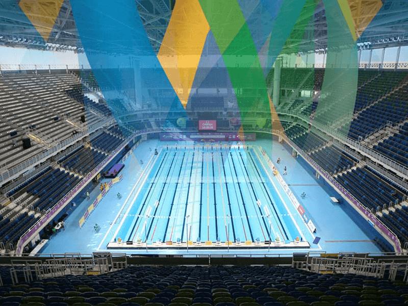 Myrtha Pools Olimpiadi Rio