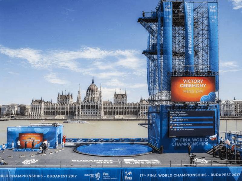 Myrtha Pools | Campionati Mondiali di Nuoto 2017