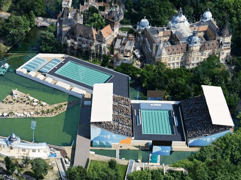 Myrtha Pools Mondiali di nuoto 2017