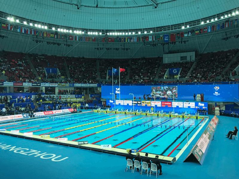 Myrtha Pools Mondiali di nuoto 2018