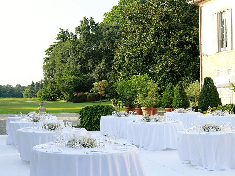 Matrimonio in villa Cerimonia e cena